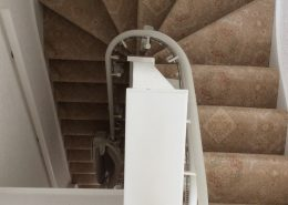 Curved Rail Stairlift