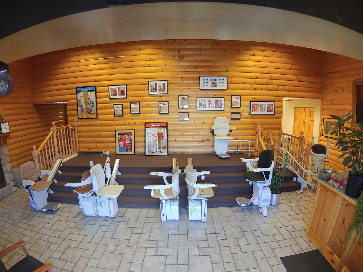 stairlif showroom Stannah in the Mt. West rs